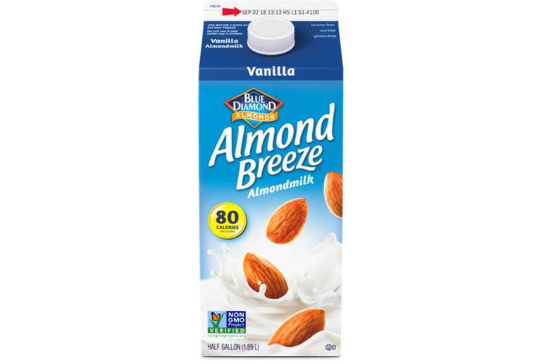 Vanilla Almond Breeze almond milk