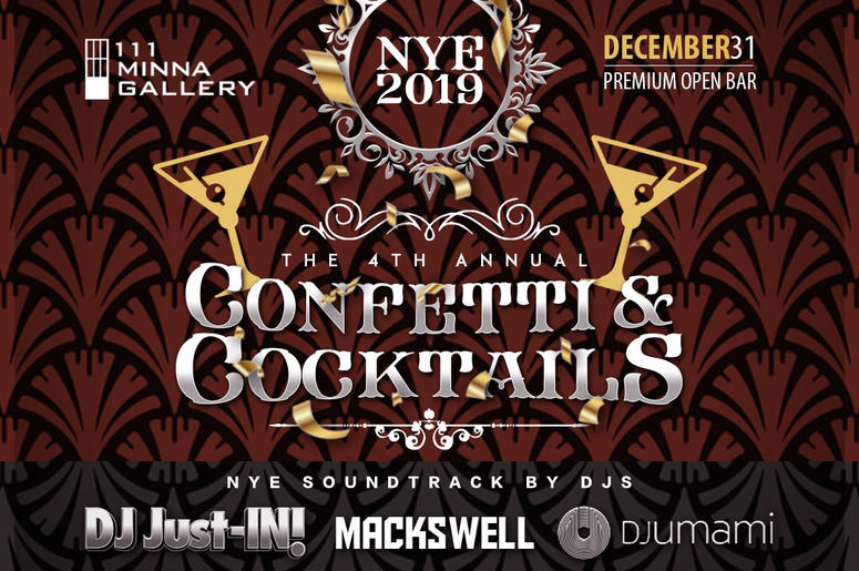 Confetti and Cocktails NYE 2019 with DJ Umami