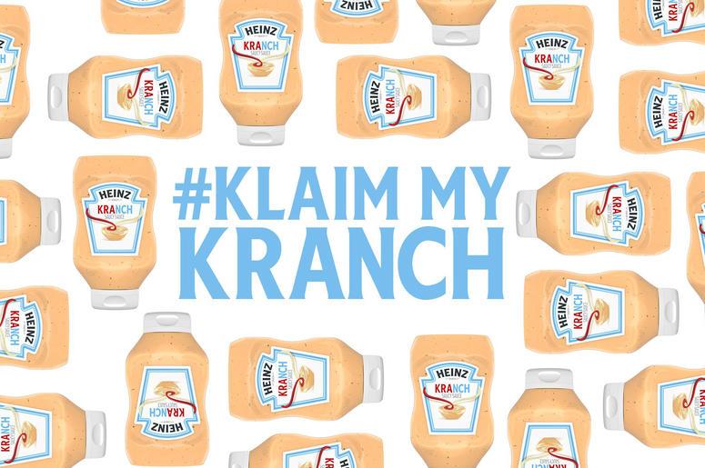 Bottles of Heinz Kranch