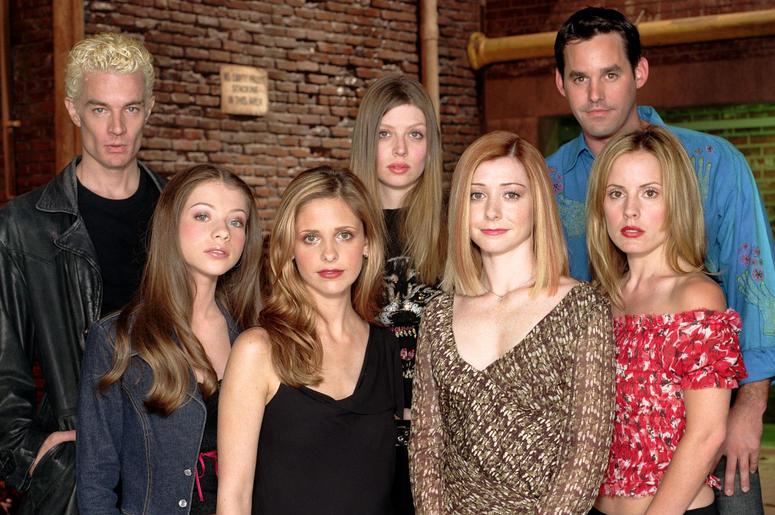 Cast of 'Buffy The Vampire Slayer'