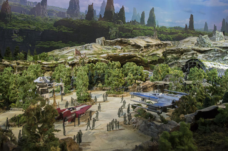 A GALAXY OF STORIES AT D23 EXPO- Showcasing the creative process of bringing new Disney park experiences to life, Walt Disney Parks and Resorts invites guests to discover its pavilion, 'A Galaxy of Stories,' at D23 Expo. Guests will get an exclusive look