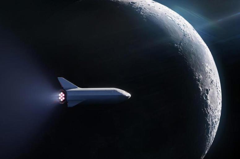 SpaceX Lunar BFR