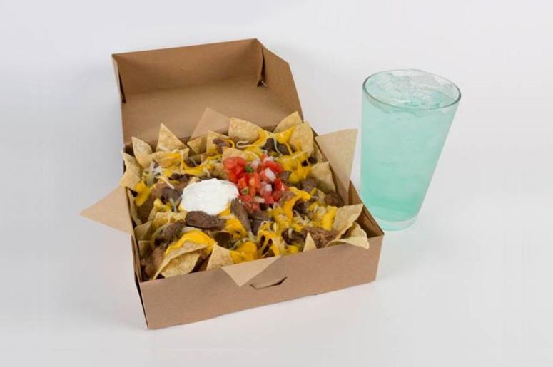 Taco Bell $5 Steak Nachos Box