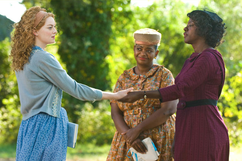 """Emma Stone, Octavia Spencer and Viola Davis in """"The Help"""" (Photo credit: 1492 Pictures/ Motion Pictures)"""
