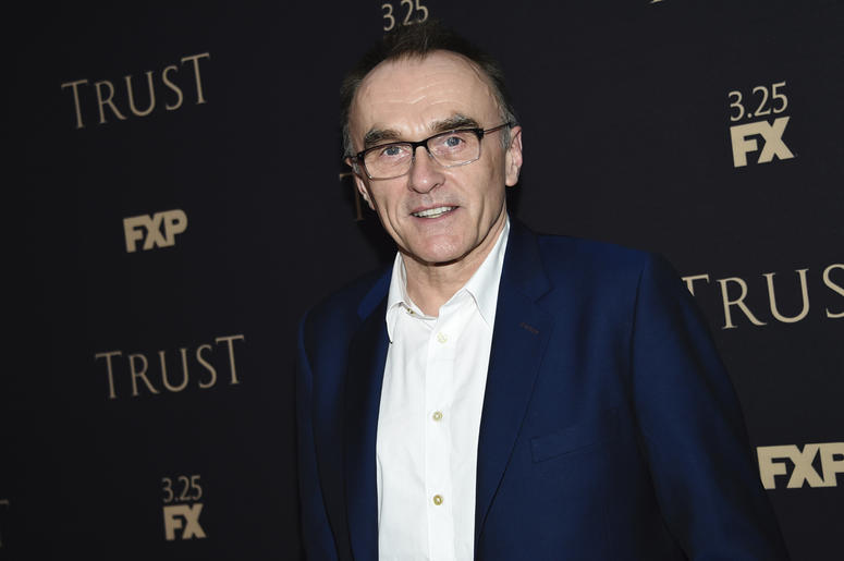 In this March 15, 2018 file photo, director Danny Boyle attends FX Networks' annual all-star party in New York. Bond producers Michael G. Wilson and Barbara Broccoli, along with star Daniel Craig, announced Tuesday that Danny Boyle has exited the project