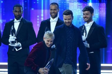 Ellen and Justin
