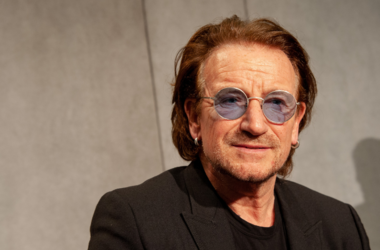 U2 rock band frontman Paul David Hewson (Bono Vox)
