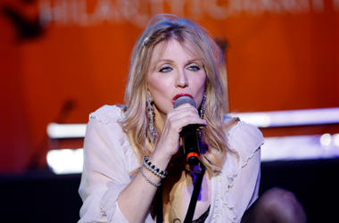 Courtney Love performs onstage Hilarity for Charity's 5th Annual Los Angeles Variety Show