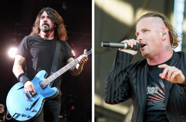 Dave Grohl and Corey Taylor