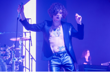 Matthew Healy of The 1975