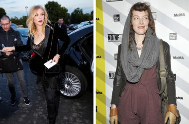 Courtney Love and Melissa auf der Maur