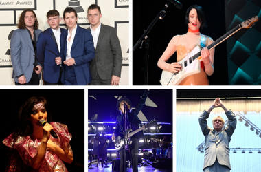 Arctic Monkeys, St. Vincent, David Byrne, Beck, Bjork