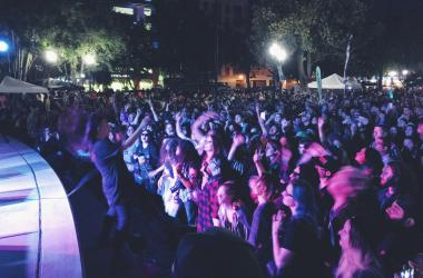 Concerts in the Park, Rituals of Mine, Sacramento, Cinco de Mayo