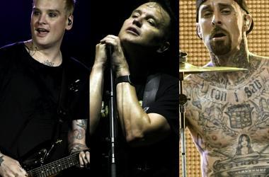 Current Members of Blink-182: Matt Skiba, Mark Hoppus, and Travis Barker