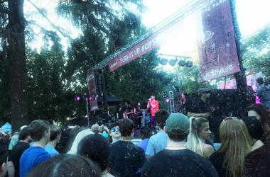 Joy and Madness, Concerts in the Park, Sacramento