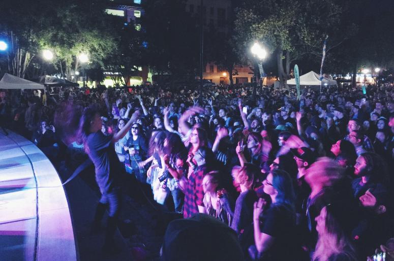 Concerts in the Park, Rituals of Mine, Sacramento, Cinco de Mayo