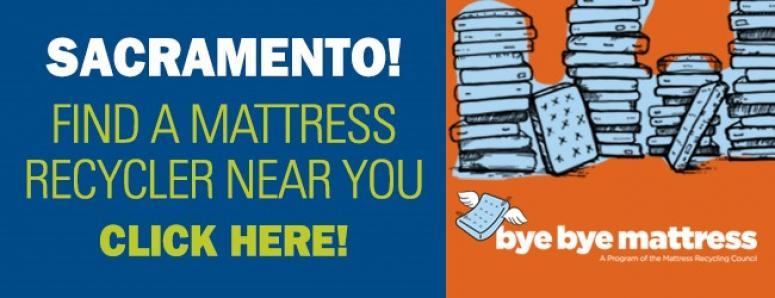 Bye Bye Mattress Mattress recycling Sacramento