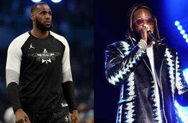 Lebron James x 2 Chainz