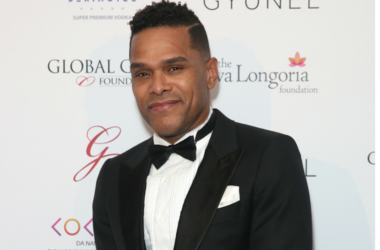 Maxwell attending the Global Gift Gala