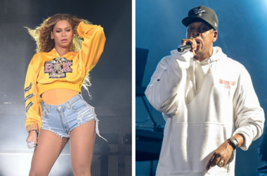 INDIO, CA - APRIL 14: Beyonce performs at the 2018 Coachella Valley Music And Arts Festival at Indio Polo Grounds on April 14, 2018 in Indio, California. / Jay-Z (Shawn Carter) during the Budweiser Made In America Music Festival at Benjamin Franklin Park.