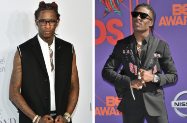 Musician Young Thug attends Rihanna's 3rd Annual Diamond Ball at Cipriani Wall Street in New York, NY on September 14, 2017. / Lil Uzi Vert arrives at the 2018 BET Awards held at the Microsoft Theater in Los Angeles, CA on Sunday, June 24, 2018.