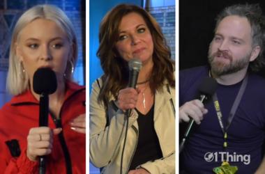 Zara Larsson, Martina McBride, Death Cab For Cutie