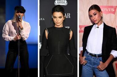 Miley Cyrus, Kendall Jenner, Hailey Baldwin