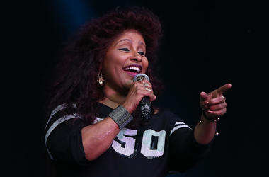 Chaka Khan at Electric Picnic festival