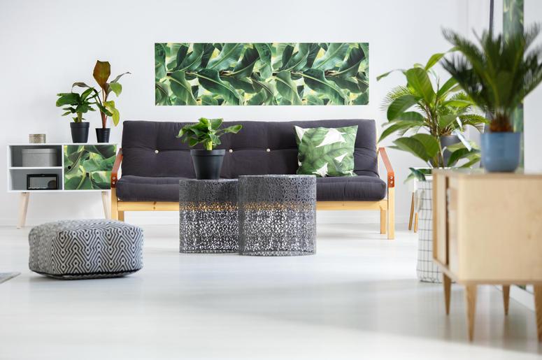 Green living room