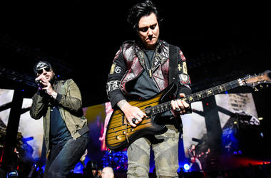 M. Shadows and Synyster Gates of Avenged Sevenfold