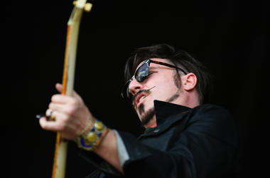 Scott Holiday of the Rival Sons performs during the 2018 Shaky Knees Music Festival