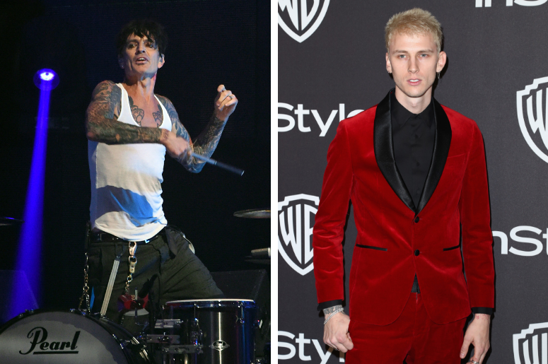 Tommy Lee and Machine Gun Kelly