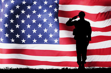 Flag, Military, Service, Salute