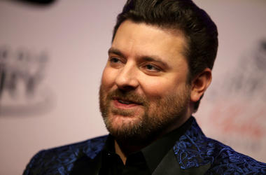 """Recording artist Chris Young attends """"An Opry Salute to Ray Charles"""" at The Grand Ole Opry on October 8, 2018 in Nashville, Tennessee"""