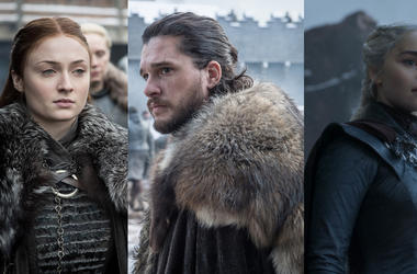 Sansa Stark, Jon Snow, Daenerys Targaryen