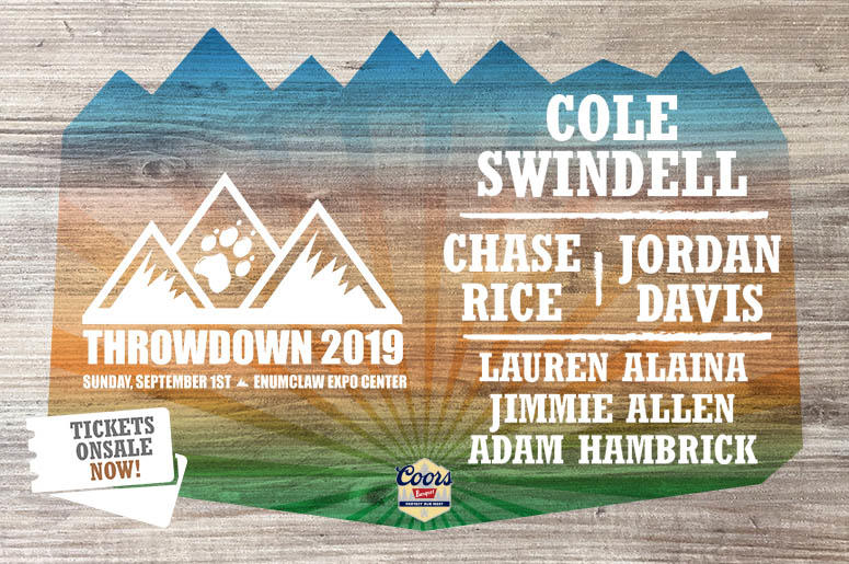 Throwdown 2019 Onsale Now