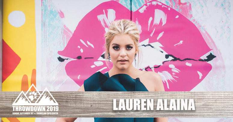 Lauren Alaina Throwdown 2019