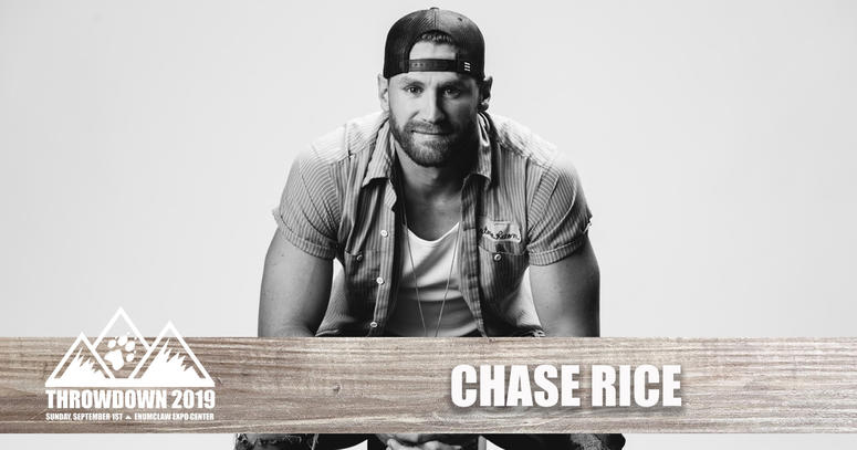 Chase Rice at Throwdown 2019