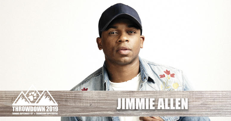Jimmie Allen Throwdown 2019