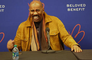 Steve Harvey at Beloved Benefit