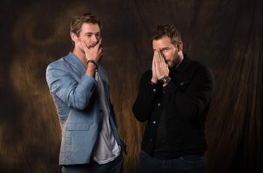 Chris Hemsworth Chris Pratt Avengers