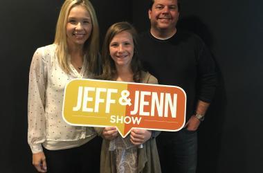 Jeff and Jenn with Sydney Riggins