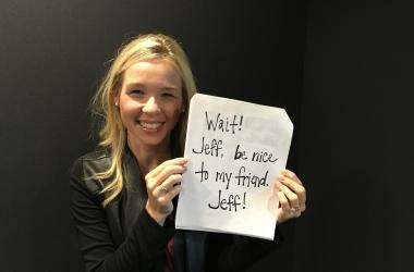 Jenn Tells Jeff to Be Nice!
