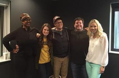 Jeff and Jenn with Mia and Jarrod