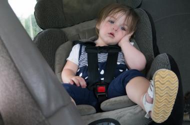 Kid in Car Seat
