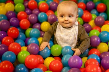 Kid in Ball Pit