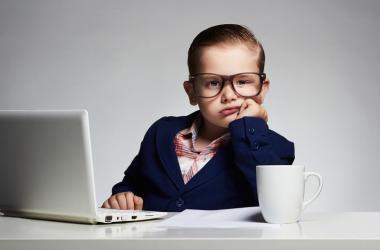 Kid in Office