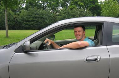 Guy in Car