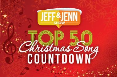 Jeff & Jenn's Top 50 Christmas Song Countdown!