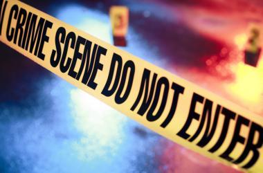 Photo of a generic crime scene.